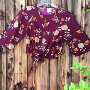 Japna medium blouse wide 3/4 sleeve